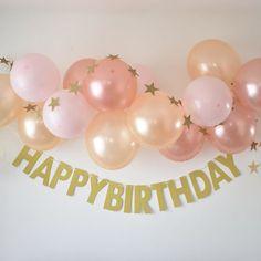 Boys First Birthday Party Ideas, Happy Birthday Signs, Diy Birthday, Birthday Parties, Birthday Decorations At Home, Birthday Party Decorations, Baloon Garland, Birthday Balloons, Eid Balloons
