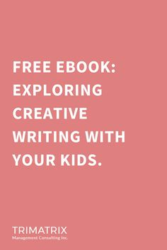 #FREE #Ebook: exploring #creative #writing with your kids. Now is the time to pursue the #passions that you may not have had the time to explore before. #Writing is the perfect in-home activity that sets your mind free and also the minds of others. Take advantage of this opportunity to express yourself and allow your creativity to flow. If you need help or assistance in writing a children's book, we invite you to reach out to our exceptional consultants! #authors #aspiringauthors… Kids Writing, Writing Resources, Creative Writing, Create Your Own Book, Online Self, Online Tutorials, Self Publishing, Children's Books, Free Ebooks