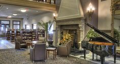 Inside the beautiful Piqua Public Library - Piqua, Ohio