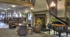 Inside the beautiful Piqua Public Library - Piqua, Ohio