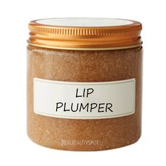 Make Your Lips Look Bigger with DIY all natural Lip plumping Scrub and Oil - Lip plumpers can subtly add shape and volume to your lips. Plump your lips in a most inexpensive and natural. Beauty Secrets, Beauty Hacks, Beauty Products, Beauty Guide, Beauty Ideas, Hair Removal Diy, Natural Lips, Natural Lip Plumper, Natural Beauty