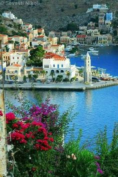 Symi Island Greece. Greek Islands Vacation, Best Island Vacation, Best Greek Islands, Greece Islands, Places Around The World, Around The Worlds, Affordable Family Vacations, Places To Travel, Places To Visit