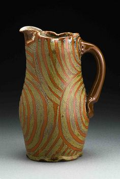 """Ronan Peterson's """"Growth Rings"""" pitcher"""