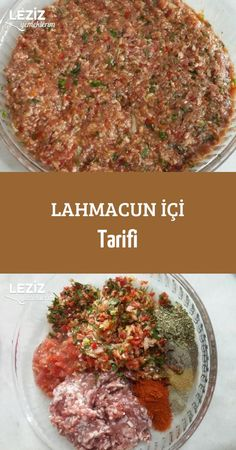 Lahmacun within the directions-Lahmacun innerhalb der Richtungen Lahmacun withi – Pratik Hızlı ve Kolay Yemek Tarifleri Meat Recipes, Healthy Recipes, Spinach And Feta, Arabic Food, Turkish Recipes, Savoury Dishes, Easy Meals, Food And Drink, Yummy Food