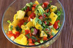 Mango Salsa Recipe | BlogChef.net