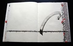 Marina Soria | Artistic Work | Artist books Calligraphy Artist, Calligraphy Text, Letter Art, Letters, Book Journal, Journals, Collage Techniques, Artist Sketchbook, Mark Making