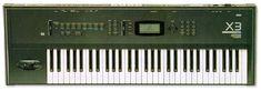 Mijn meest gebruikte synthesizer. Al veel producties meegedaan.