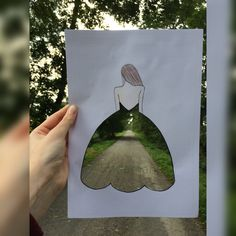 #drawing #dress #love #nature