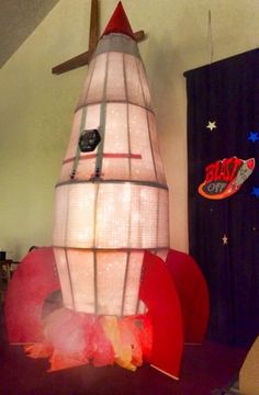 Emmaus space ship for vbs blast off.