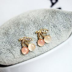Generic Cherry, ear nail hair Clip ear Ornaments _of Korean_style_of women girls jewelry pearl _water_drilling ear jewelry * Read more details by clicking on the image. #hairhack