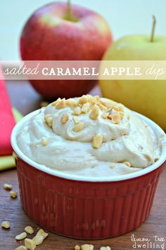 Salted Caramel Apple Dip - serious yum!!