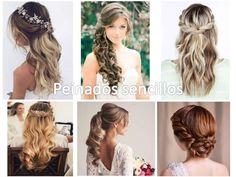 74 Ideas de Peinados para Bodas de todo tipos de cabellos y gustos Dreadlocks, Long Hair Styles, Beauty, Stiles, Ideas, Jar, Hairstyles, Celestial, Weddings
