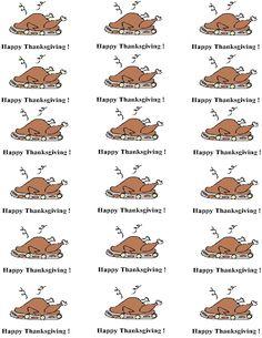 Turkey Thanksgiving Dinner Template 2.jpg (1019×1319)