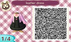 Leather Dress and two other shirts in the link. acnl qr codes