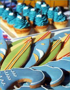 REAL PARTIES: Retro Surfer Birthday
