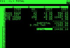 On July 16, 1979, computer scientist Dan Bricklin was born, who co-developed VisiCalc, the very first Spreadsheet application for personal computers... http://yovisto.blogspot.de/2014/07/dan-bricklin-and-visicalc.html