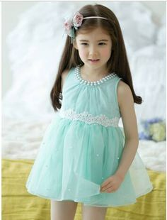 Shop now Pearl in Sky Party Dress for your baby girls and kid gils #babygirldressIndia