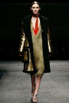 Prada Fall 2014 Ready-to-Wear Fashion Show - Manuela Frey