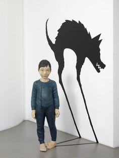 """Saatchi Online Artist: Yasam Sasmazer; 2008, Installation """"Treacherous wolf"""""""