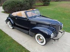 1938 Plymouth P8 DeLuxe Convertible