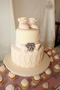 simple shabby chic baby shower ideas - Google Search