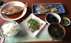 あらさき亭 - 料理写真:お魚のセット