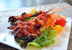 Asian Grilled Pork Skewer