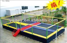 Cheap rectangle trampolines for sale $500~$4800