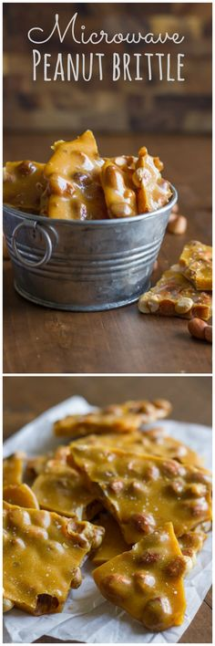 How to make yummy peanut brittle in your microwave in less than 10 minutes!