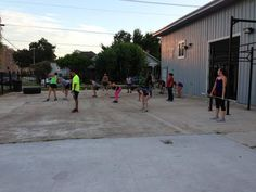 What's up #Htownies! Coach G drilling the 6:45pm yesterday.