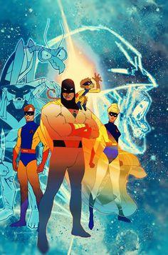Desenhos da Hanna-Barbera são modernizados em HQs pela DC Comics - veja | Omelete
