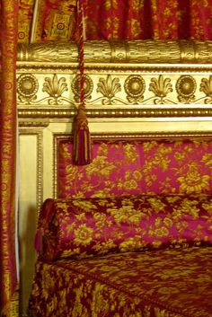 Versailles, bed, #detail