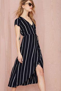Faithfull Lulu Wrap Dress | Shop Dresses at Nasty Gal