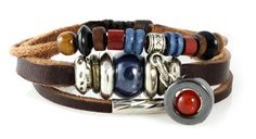 Durango Leather Zen Bracelet, Multi-strand with Orange Bead Drop for Men, Women, Teenager, Boy and Girl, 5 to 7 Inch Wristband in Gift Box Beautiful Silver Jewelry,http://www.amazon.com/dp/B0067LQRI0/ref=cm_sw_r_pi_dp_Yss-rb0YE56WWD63