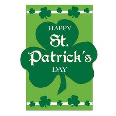Happy St. Patrick's Day Flag