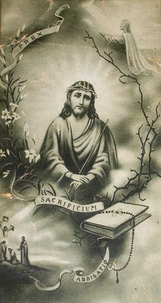 My Jesus, by the sorrows Thou didst suffer in Thine agony in the Garden, in Thy scourging and crowning with thorns, on the way to Calvary, in Thy crucifixion and death, have mercy on the souls in...