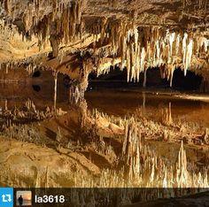 Dream Lake | Luray Caverns Luray, VA | #discoveryaday from @la3618