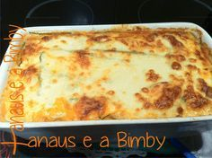 Xanaus e a Bimby: Lasanha de Courgette e Carne - A Dieta dos 31 Dias... Queijo Light, Lasagna, Carne, Macaroni And Cheese, Healthy Recipes, Healthy Food, Food Porn, Low Carb, Pizza