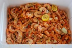 Shrimp boil with Petit Jean Meats Arkansas style smoked sausage in Ft. Morgan, Alabama. Recipe on the blog!
