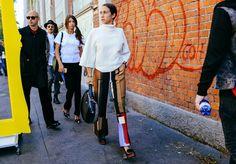 "fwspectator: ""Fashion Week Spectator | daily street style """