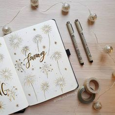 Full of wonder beautiful Bullet Journal theme ideas for cold winter months. Plus fun page ideas you can include in your setup. Lots of inspirations - cover pages, monthly logs, weekly spreads, and more. Pick a fun and creative theme to start your month. #mashaplans #bulletjournal #winterbujo #bujo #bujoinspo Bullet Journal Tools, Bullet Journal Cover Page, Bullet Journal School, Bullet Journal Themes, Bullet Journal Spread, Journal Covers, Bullet Journal Inspiration, Journal Pages, Bullet Journals