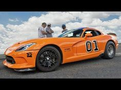 Watch This 2,300 Horsepower General Lee Dodge Viper Dominate the Half-Mile