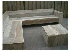 Garden bench: