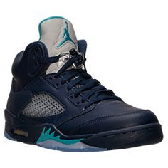 Inspired by Michael Jordan's continued flight status and a WWII fighter plane the Air Jordan V was another custom Tinker Hatfield tinkered to perfection. With another scoring title under his belt and a 69 point outbreak against the Cavaliers, Jordan needed a shoe that would live up to his elevated game.  </p><p> 1990 proved to be a good year, Michael's aerial attack inspired the WWII Spitfire flames on the V's. This shoe introduced a padded tongue displaying a continuance of the iconic…