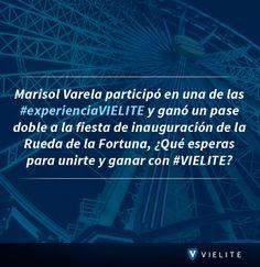 ¿Qué esperas para unirte y ganar con #VIELITE? www.vielite.com