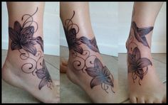 Hummingbird And Lilies Tattoo By WordCleaver On DeviantART
