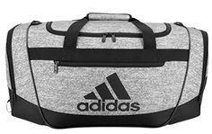 5d949dffda6 Adidas Black And Grey Gym Sports Durable Workout New Small Bag Men Sport Bag