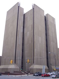 Buffalo City Court Building (1974), Buffalo, New York - classic example of Brutalist architecture