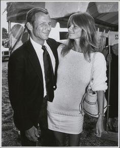 Peter Beard and Cheryl Tiegs, 1981