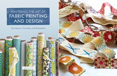 More home printed fabric - see book.